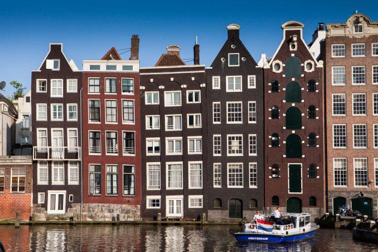 Grachtenhuizen (maisons de canaux), Amsterdam