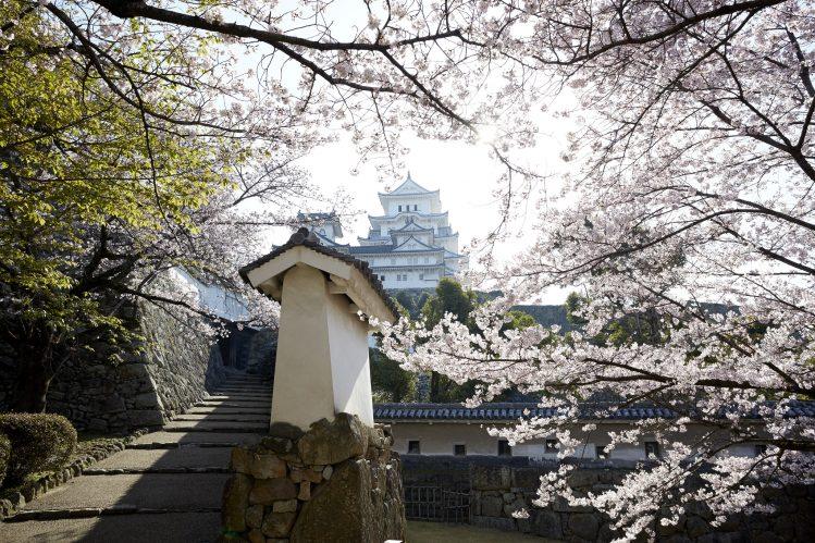 japon himeji james bond tournage