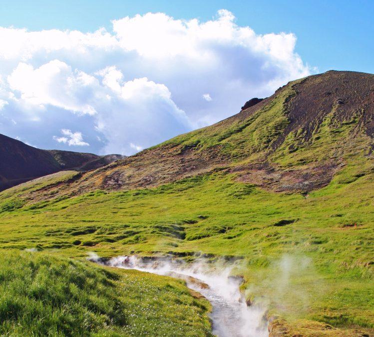 Reykjadalur, randonnée en Islande