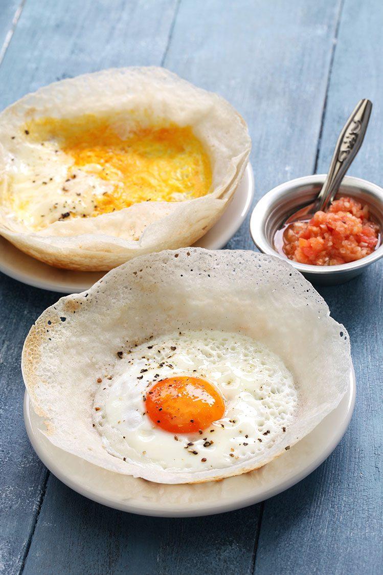 hoppers Sri Lanka spécialités culinaires