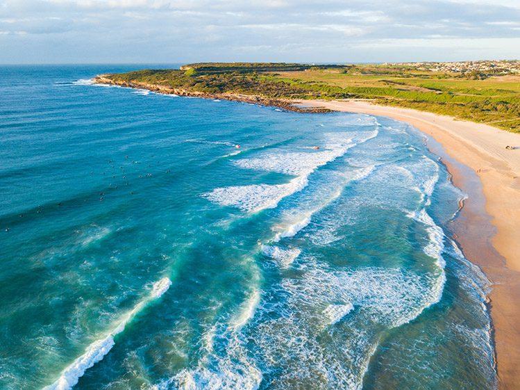 plage de maroubra sydney plages