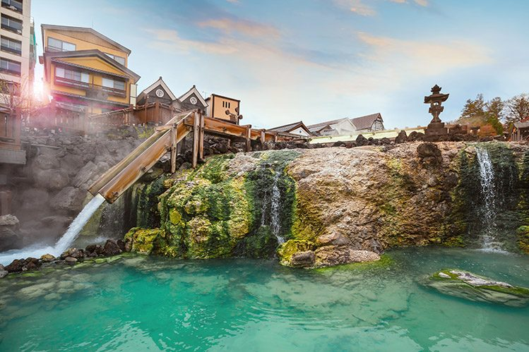 onsen kusatsu Gunma japon activités