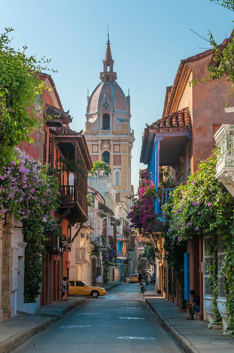 vieille ville Carthagène colombie itinéraire 15 jours