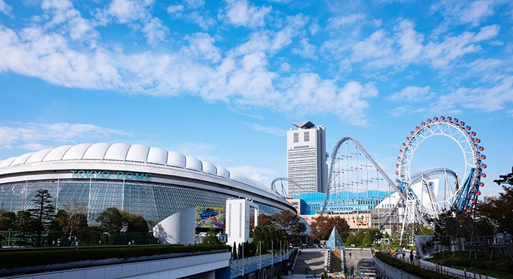 tokyo dome japon insolite