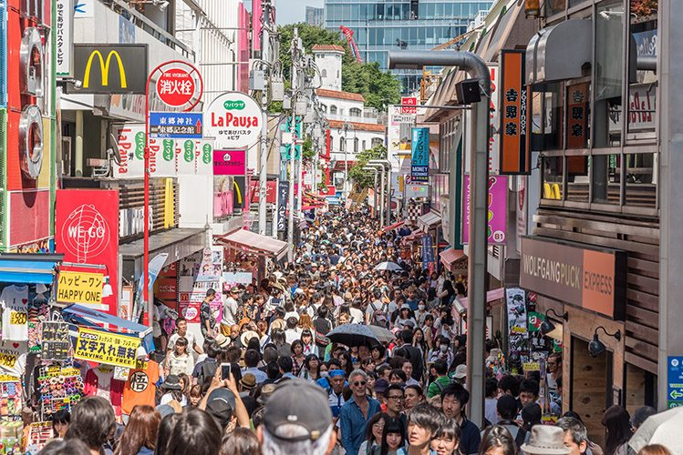 Takeshita dori tokyo japon activités