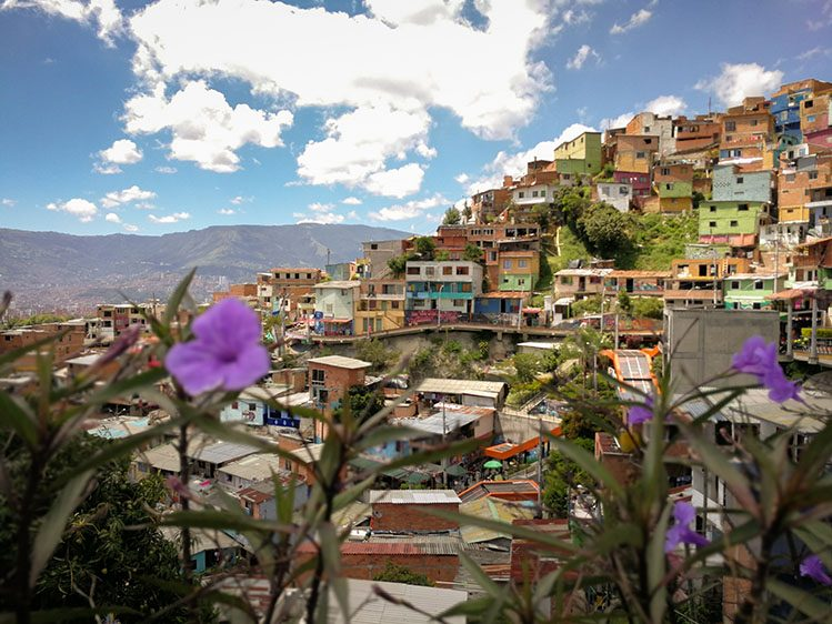 comuna 13 Medellin Colombie itinéraire 3 semaines