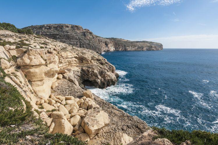 Dingli cliffs malte randonnee
