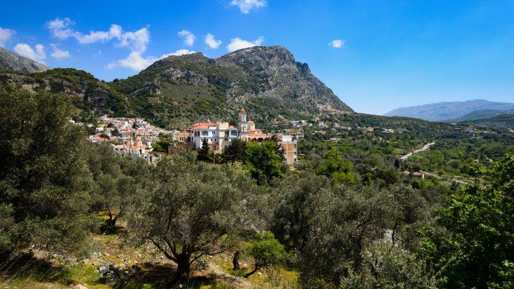 Spili village Grece Crete villages