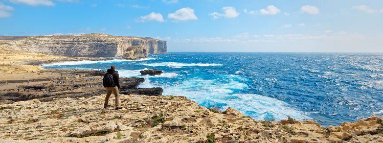 Où faire de la randonnée à Malte?
