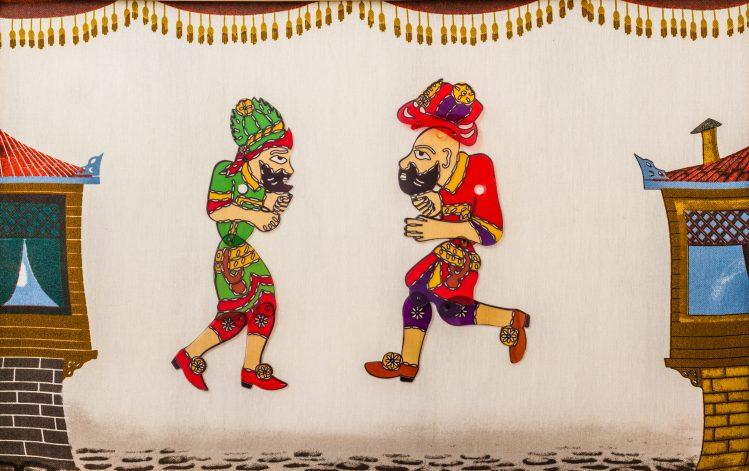 hacivat karagoz théâtre marionnettes karagoz chypre insolite