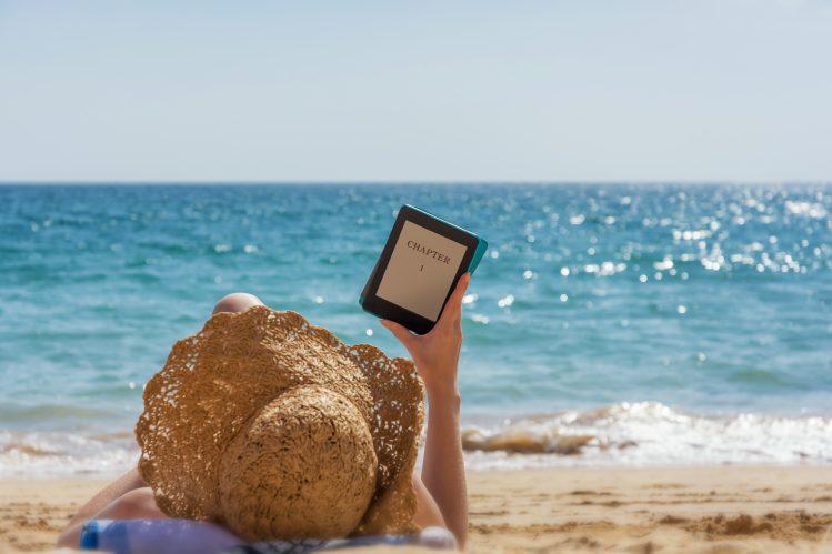 tablette, voyage, valise