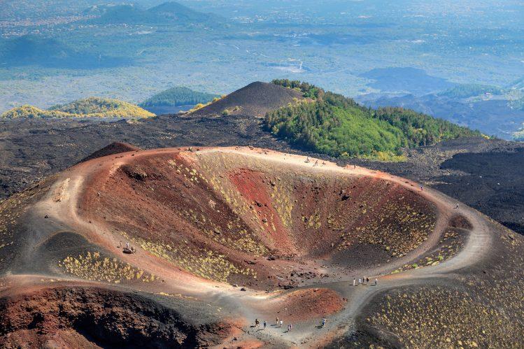 volcan etna sicile activites