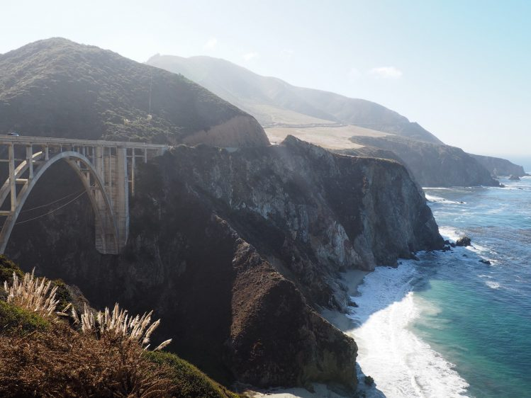 bixby bridge big sur californie enfants famille