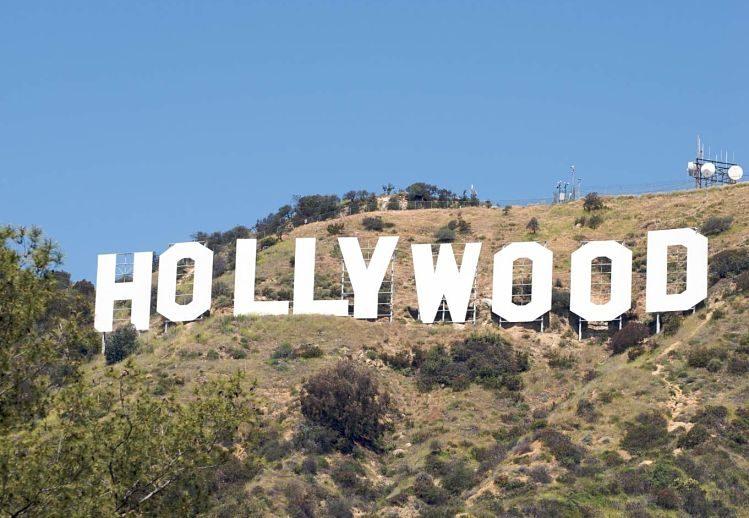 enseigne hollywood las vegas californie enfants famille