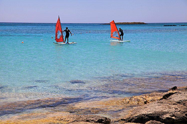windsurf crête insolite
