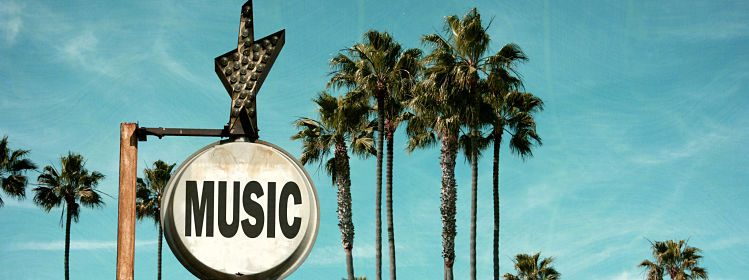 Playlist pour un road trip en Californie