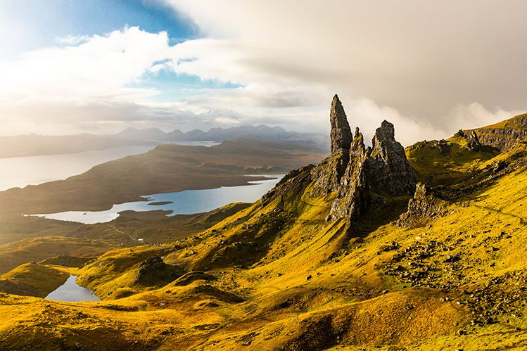 old man of storr ile de skye