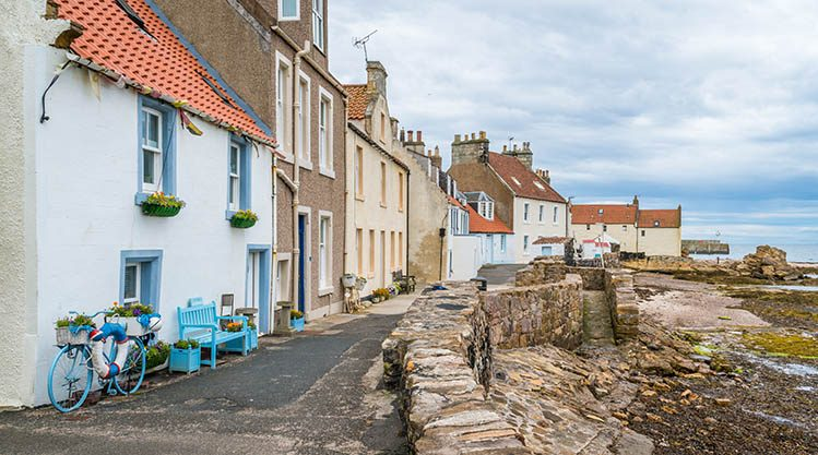 Pittenweem, Écosse villages