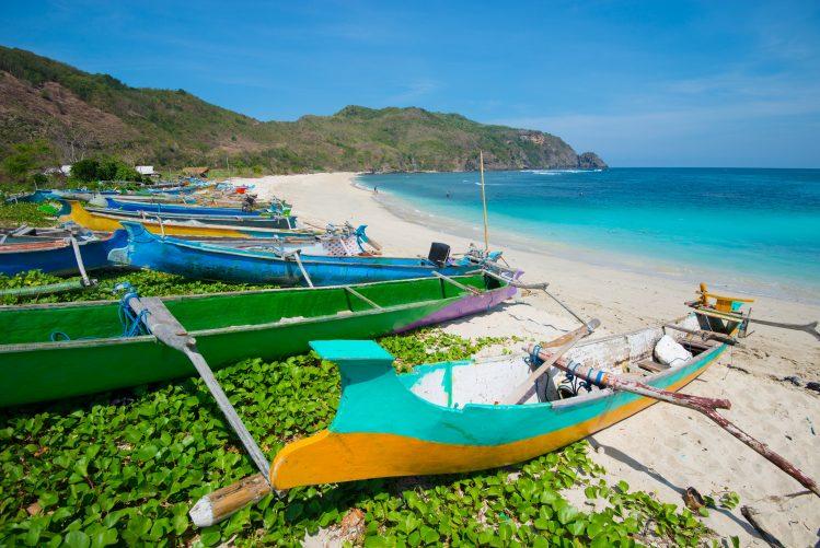 Mawun Lombok plage