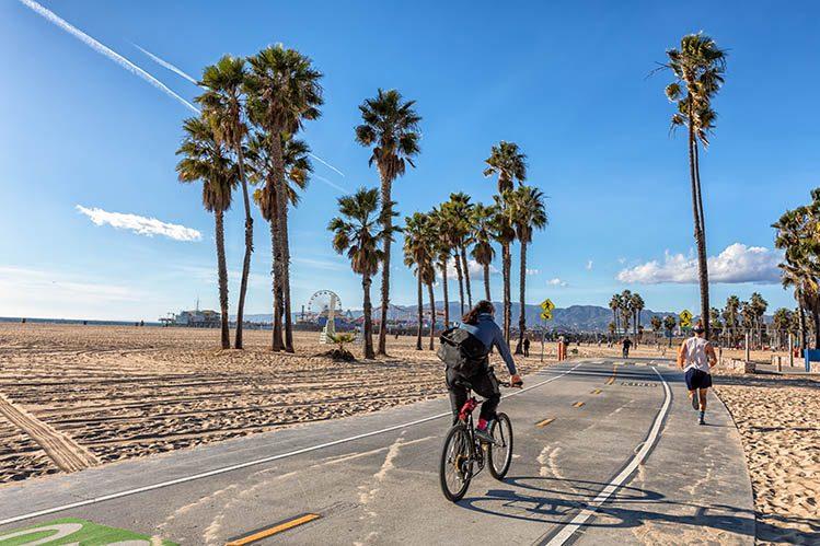 vélo Venice Beach Californie activités