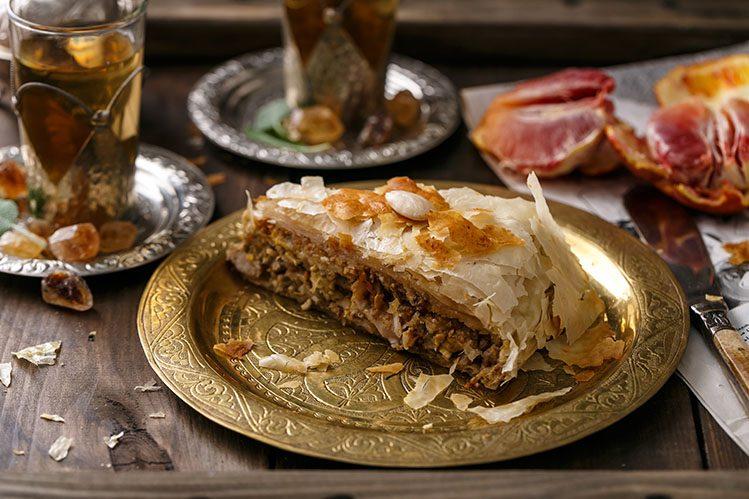 pastilla marocaine spécialités culinaires Maroc