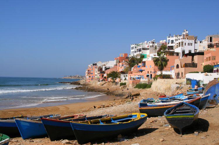taghazout village maroc