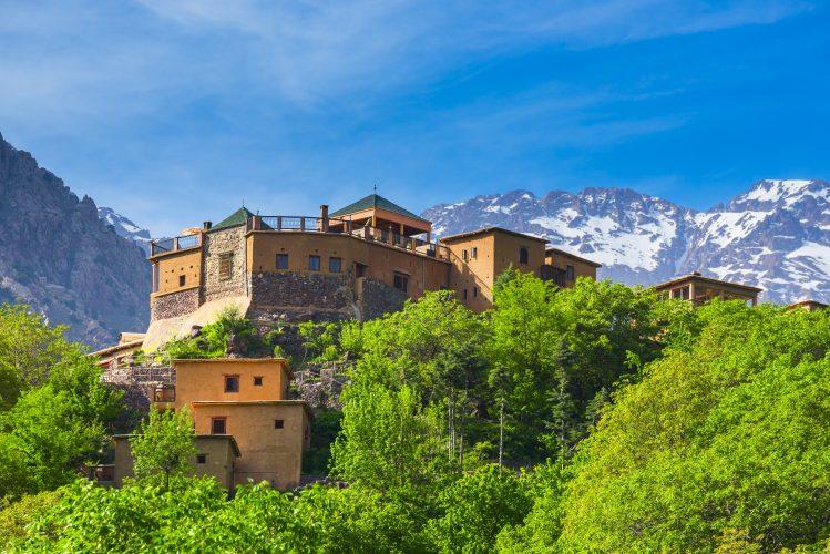 toubkal imlil village maroc