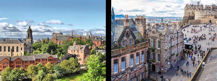 Écosse: Édimbourg ou Glasgow, quelle ville choisir?