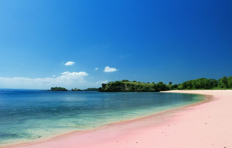 Lombok Pink Beach plage