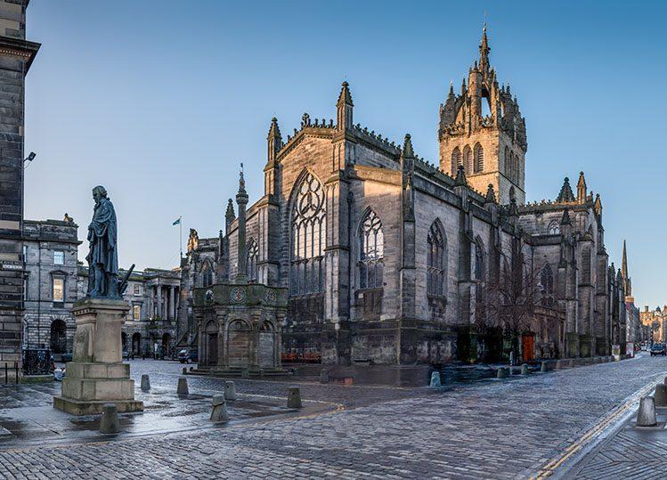 cathédrale saint gilles Édimbourg