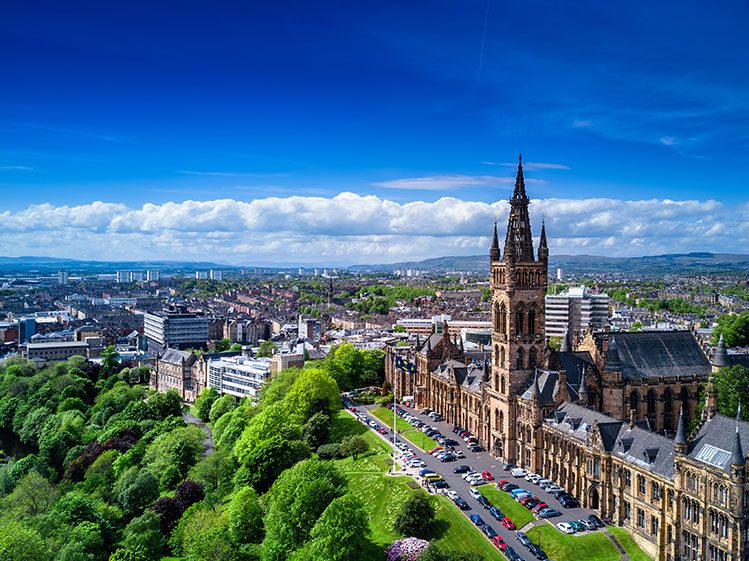 West End Université Glasgow Écosse