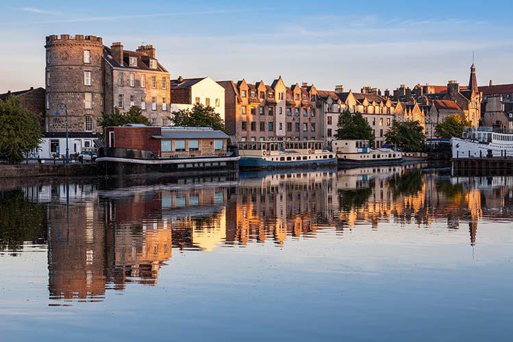 Leith quartier loger Édimbourg écosse