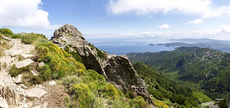 Monte Capanne, île d'Elbe toscane randonnée