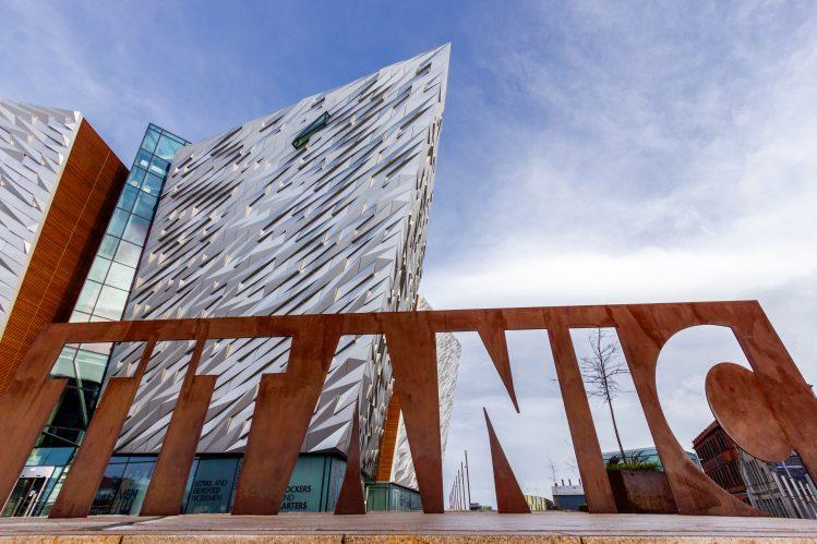 irlande belfast titanic museum