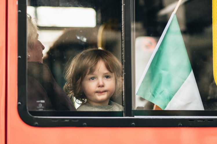 irlande saint patrick enfants