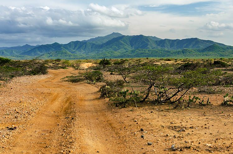 parc naturel de Macuira La Guajira paysages étonnants Colombie