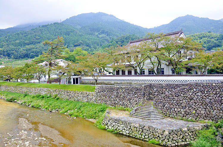 Vieille ville de Tsuwano Japon ouest