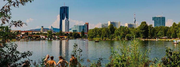 Vienne en été