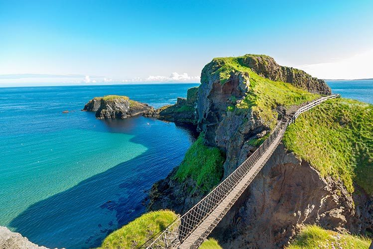 Causeway Coast Way Irlande randonnées