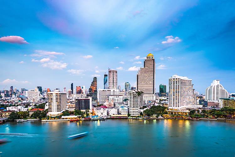 Bangkok Thaïlande quelle région