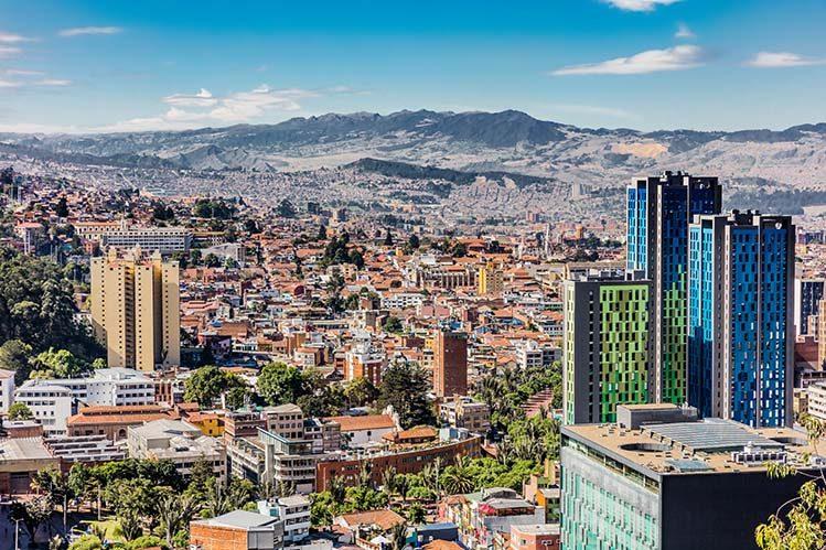 panorama ville Bogota Colombie livres avant de partir