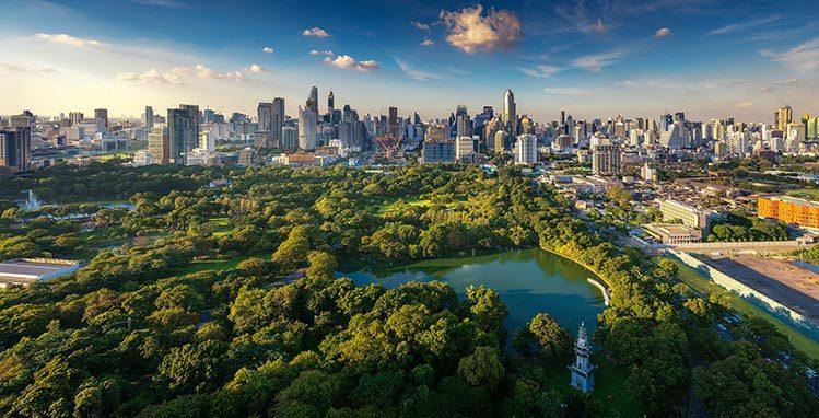lumphini park Bangkok gratuit Thaïlande