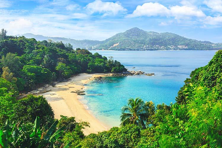 plage patong Thaïlande quelle région
