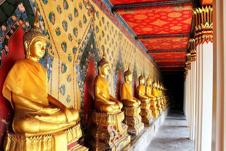 Wat Mahathat Bangkok gratuit Thaïlande