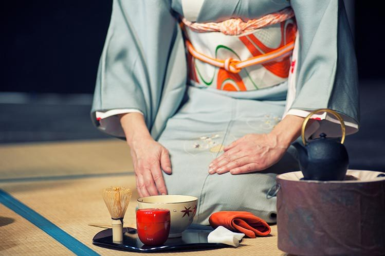 instruments maitre de cérémonie thé japon