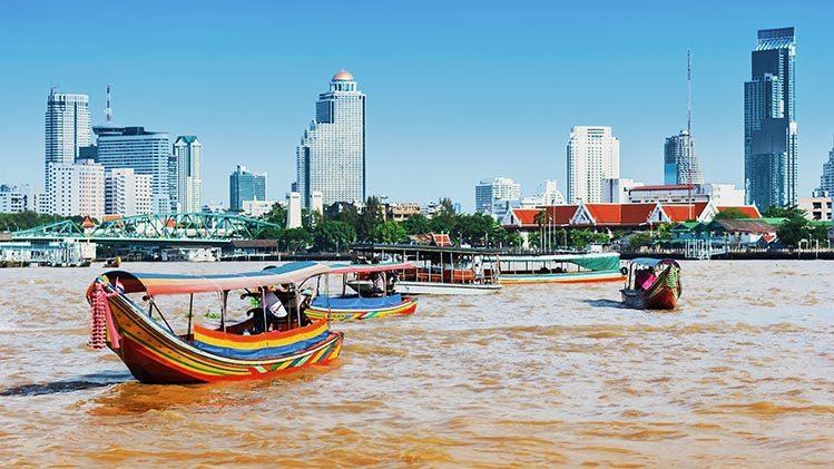 Bangkok gratuit chao river Thaïlande