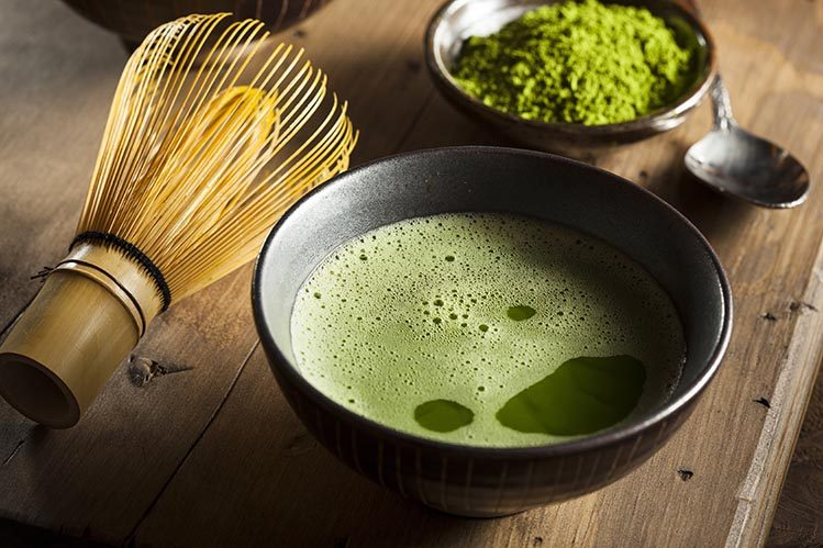 thé vert matcha japon cérémonie