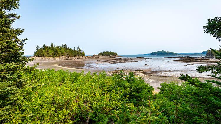 parcs nationaux Bic Québec canada