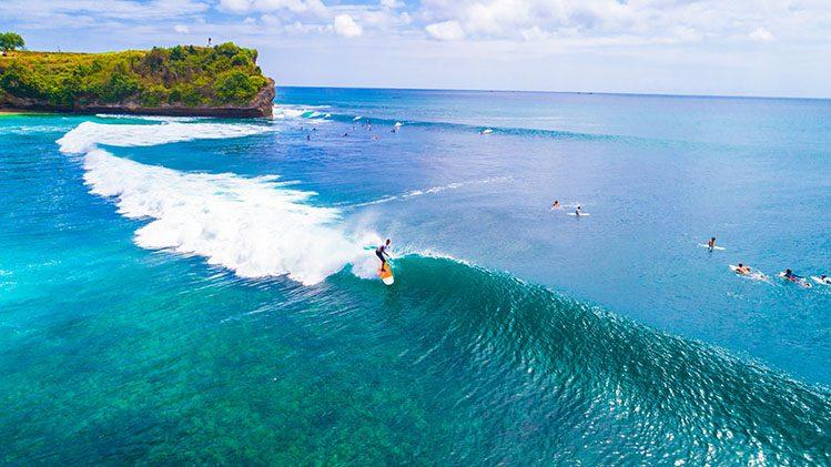 surf balangan Bali activités