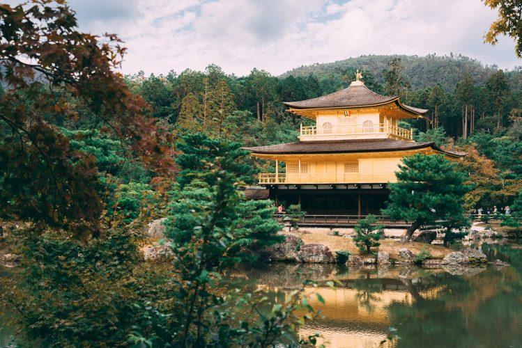 pavillon d'or kinkaku-ji kyoto